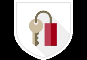 alarm and key holding